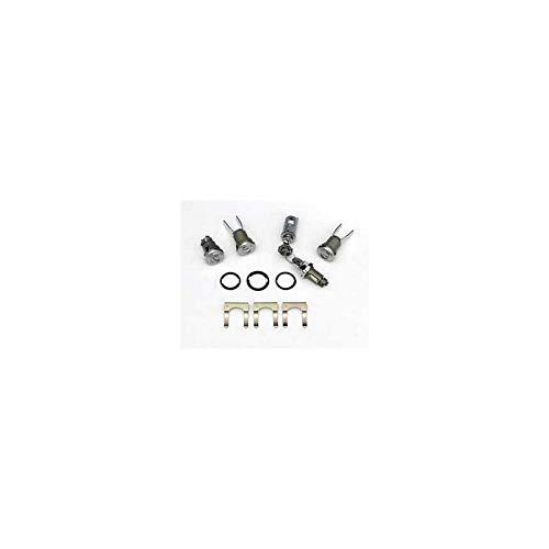 Eckler's Premier Quality Products 57162810 Chevy Door Trunk Glove Box & Ignition Door Lock Set