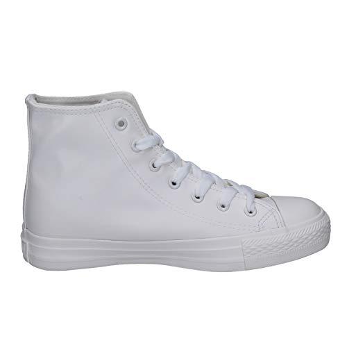Bianco Donna Everlast Everlast Sneaker Pelle Bianco Pelle Everlast Sneaker Donna Sneaker Rv4Wq1