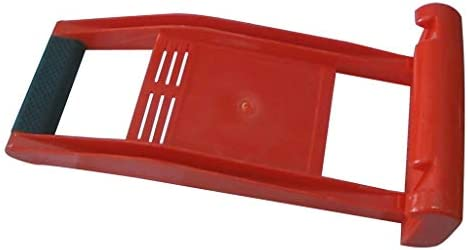 Fenteer キャリーハンドルグリッパーパネルキャリア合板キャリアハンディグリップボードリフター省力ツールオレンジ