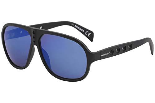 DIESEL for man dl0097 - 02X, Designer Sunglasses Caliber (Diesel Plastic Sunglasses)