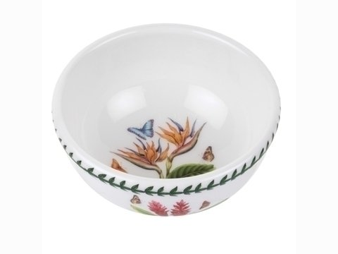 Portmeirion Exotic Botanic Garden Individual Fruit Salad Bowl, Set with 6 Assorted Motifs ()