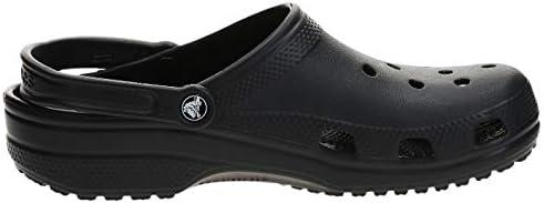 Crocs Classic Clog|Comfortable Slip On Casual Water Shoe, Black, 13 M US Women / 11 M US Men