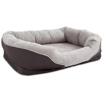 "Petco Orthopedic Peaceful Nester Gray Dog Bed, 40"" L X 30"" W X 10""H"