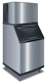 B570 Bin (Manitowoc IY-0504A_B-570 560 Lb Air-Cooled Half Cube Ice Machine w/ Storage Bin)