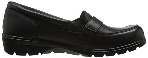 Skerchers Dames Metronoom Slip-on Loafer Zwarte Gesp