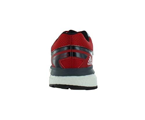 Adidas Response Boost Tech Mens Skor Storlek Scarlet / Vit / Svart