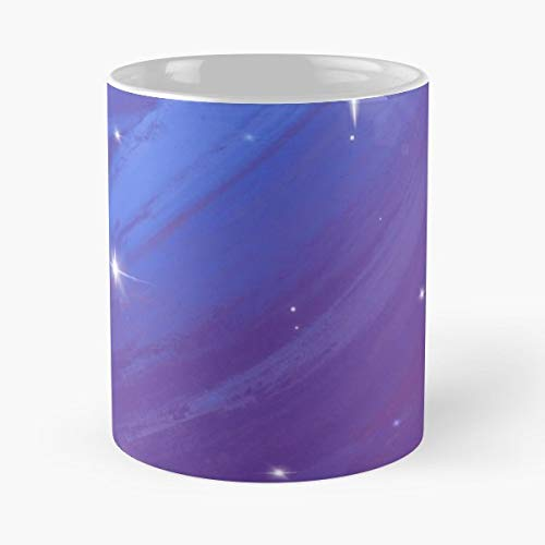 Night Starry Stars Starlight - 11 Oz Coffee Mugs Ceramic,the Best Gift For Holidays.