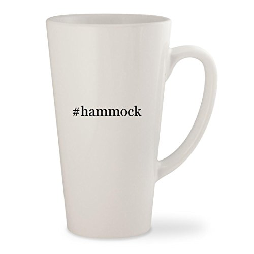 Price comparison product image #hammock - White Hashtag 17oz Ceramic Latte Mug Cup