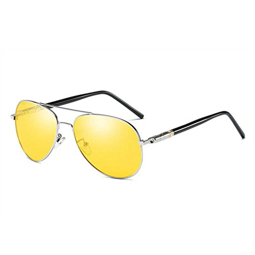 7 barrera deslumbramiento completa gafas Coolsir Eyewear Hombres UV400 anteojos anteojos conducción protección de sol de polarizado qZTg8xzv