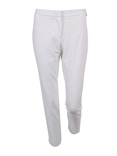 持つコーラス横Calvin Klein女性の小柄Highline straight-legパンツ