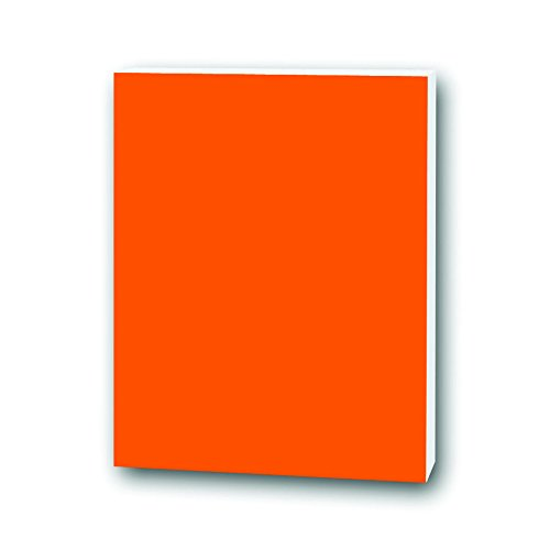 20 x 30 Neon Orange Foam Project Sheet, Pack of 6 by Flipside
