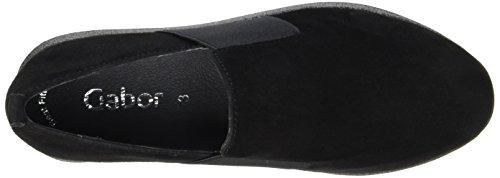 Negro Cordones Fashion para Derby Zapatos Mujer Gabor Schwarz de twpd0Xq