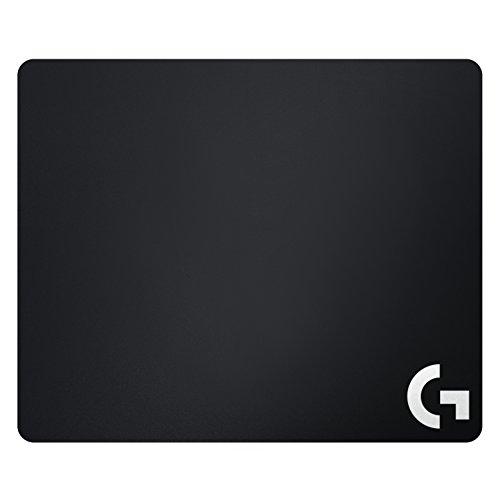 Logitech G640 Negro - Alfombrilla de ratón (Monótono, Tela, Negro)