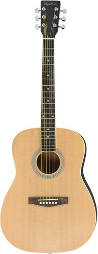 Intermediate Bluegrass Jam - Spectrum AIL 38K Student Size Hand Crafted 38-Inch Acoustic Guitar Pack with Gig Bag