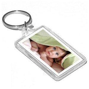 amazon com acrylic keychain photo frames package of 12 key