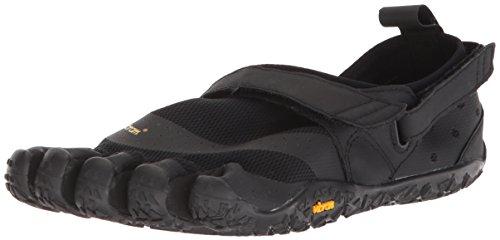 Vibram Women's V-Aqua Black Water Shoe, 40 EU/8-8.5 M US B EU (40 EU/8-8.5 US US) ()