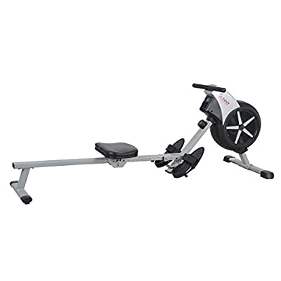 Sunny Health & Fitness SF-RW5633 Air Rowing Machine Rower w/ LCD Monitor by Sunny Distributor Inc.