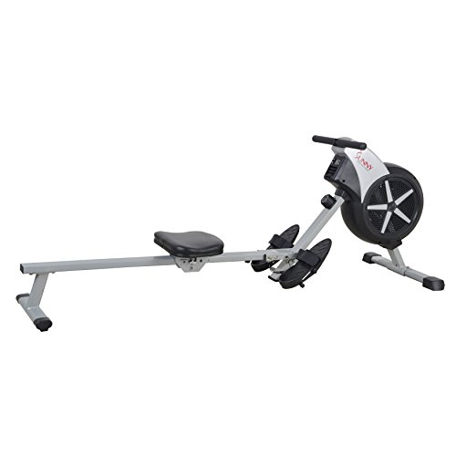 Sunny Health & Fitness SF-RW5633 Air Rowing Machine Rower w/ LCD Monitor by Sunny Health & Fitness