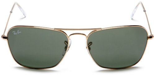 ray ban polarized sunglasses models  amazon: ray ban caravan arista frame crystal green lenses 58mm non polarized: ray ban: clothing