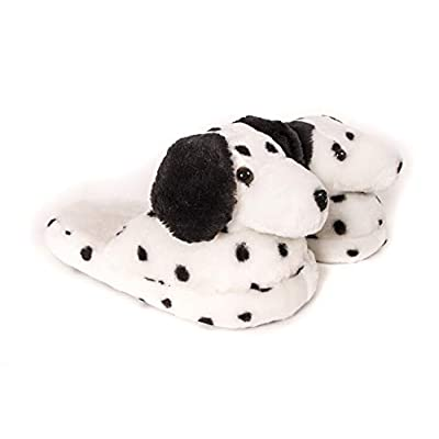 Women's Animal Slippers - Dalmatian Dog White and Black | Slippers