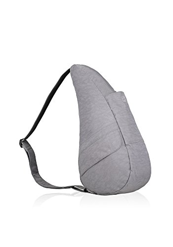 Ameribag The Healthy Back Bag Small Distressed Nylon - Pebble Grey (Distressed Nylon Healthy Small)