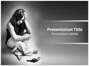 Amazon Com Depression Ppt Powerpoint Template