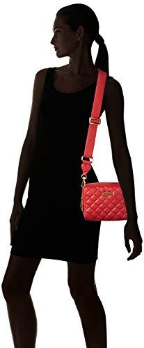 Love Moschino Damen Borsa Nappa Pu Trapuntata Rosso Schultertasche, Rot (Red), 15x20x7 cm