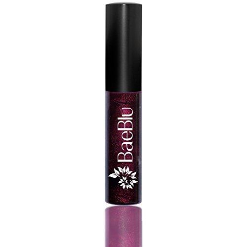 Best Organic 100% Natural Vegan Hydrating Antioxidant-Rich Lip Gloss, Made in USA by BaeBlu, Femme (Femme Lip Gloss)