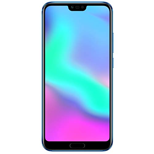 Honor 10 Smartphone, Blu, 4G LTE, 64GB di memoria, 4GB RAM, Display 5.8