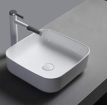 1x Vasque à Poser en Céramique Lavabo Salle de Bain Lavabo ...
