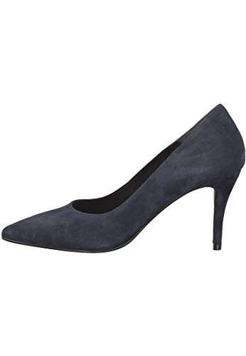 22460 805 Navy Tamaris Navy 20 1 Pumps Damen Blau Leder AvwBp