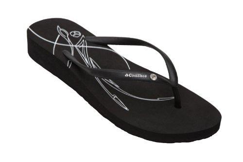 Cool Shoe - Flip Flop Zehentrenner Gr. 40 schwarz