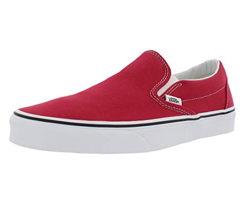 Mixte U crimson true White on Vans Adulte Mode Baskets Slip weiß Classic Rot YgddxBq