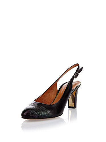 Gino Rossi Zapatos de talón abierto Dcg385 Negro EU 39