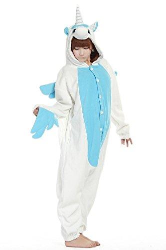 Costumi Pigiama Bambini Halloween Unicorno Adulto Chicone Anime Unisex Cosplay Kigurumi pAw4x8