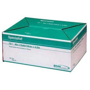 Specialist Extra-Fast Plaster Bandage 4quot; x 5 yds. [Box of 12] (Yds Specialist Fast Plaster)