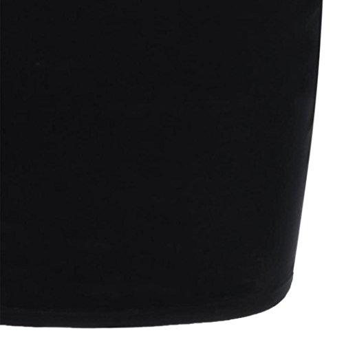 Pas Retro Fille Mini de Femme Vintage Robe Cher Robe Taille Mode Manche Court Cocktail Robe Grande Sans Robe Vetements Femme Ete Dcontracte Soire Noir1 Chic AIMEE7 Femme RxEnS7R