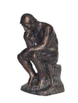 Nautic Treasures 4″ 'Thinking Man' Aquarium Statue., My Pet Supplies