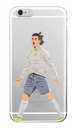 Coque Silicone Souple Iphone 7 : Ronaldo (Livraison Gratuite