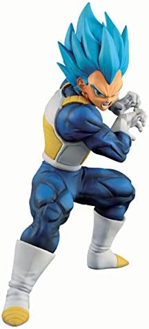 TAMASHII Nations Super Saiyan God Super Saiyan Evolved Vegeta (Ultimate Variation) Dragon Ball, Bandai Ichiban Figure (BAS60321)