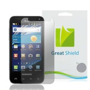 GreatShield+Ultra+Anti-Glare+(Matte)+Clear+Screen+Protector+Film+for+Samsung+Captivate+Glide+SGH-I927+(3+Pack)