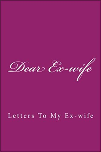 should i write a letter to my ex