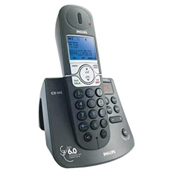 amazon com philips cd 445 dect 6 0 high defvoice phone w rh amazon com Philips Ultrasound User Manuals Philips Universal Remote User Manual