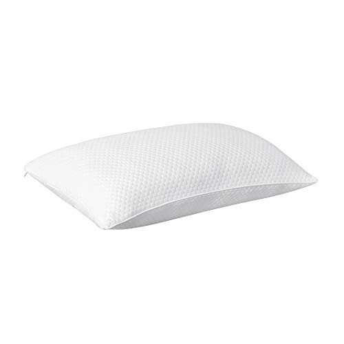 Deconovo Shredded Memory Foam Pillow Bed Pillows for Sleeping Cooling Pillow for Side Back Sleepers with Washable Removable Cover Supportive Bamboo Pillow King Size