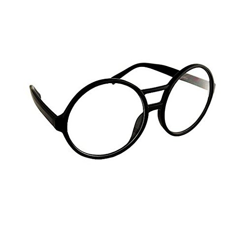 Party Stained Halloween Black Round School Nerd Glasses