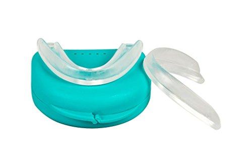 2 x OzDenta Aufbißschiene Schnarchen Zähneknirschen Schiene CMD Bruxismus - mit Dose