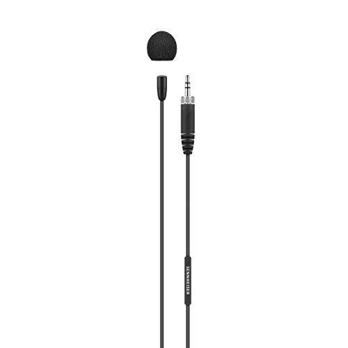 (Sennheiser Vocal Condenser Microphone, Color Black, Size 3.5mm (MKE Essential Omni-Black))
