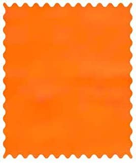 product image for SheetWorld 100% Cotton Flannel Fabric by The Yard, Flannel - Orange, 36 x 44