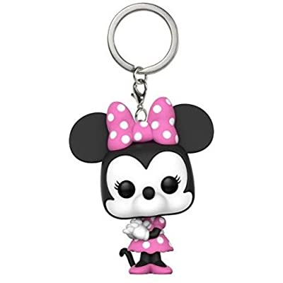 Funko Pop Keychain: Disney - Minnie Mouse Collectible Vinyl Keychain: Funko Pop! Keychain:: Toys & Games