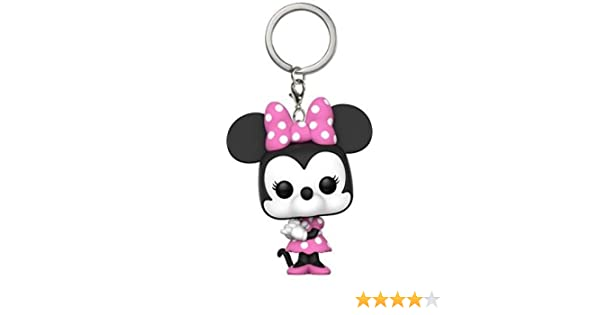 Funko Pop!- Disney Llavero de Vinilo Minnie (21771